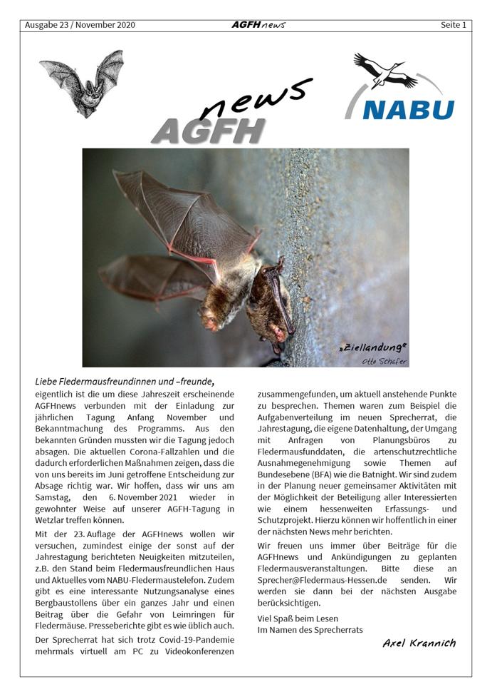 AGFH News