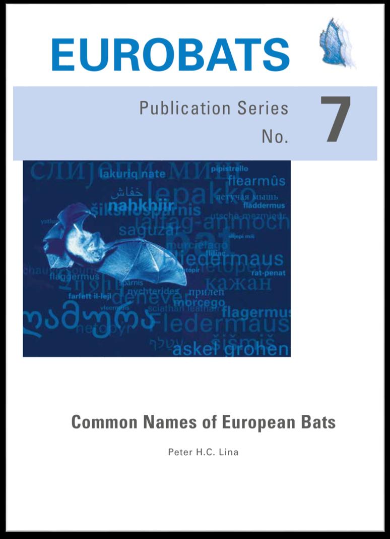Common Names of European Bats