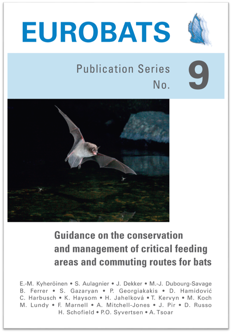 Guidance on the conservation and management of critical feeding areas and commuting routes for bats