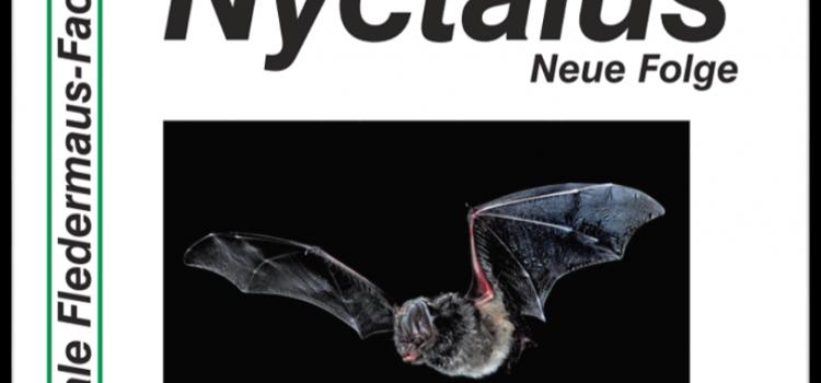 Nyctalus Band 19 Heft 4-5 (2021) erschienen